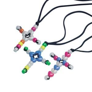 How to Make a Cross String Beaded Bracelet   eHow.com