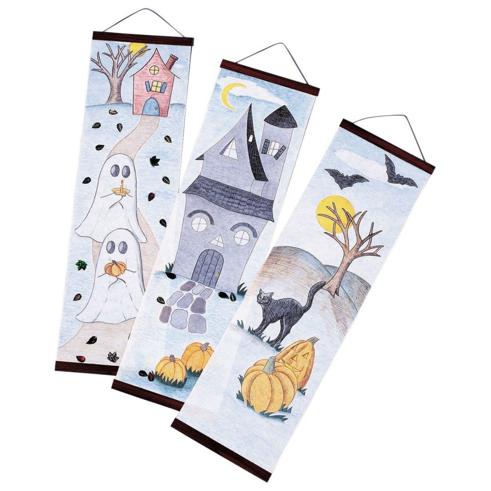 HALLOWEEN Designer Panels Craft Kit (Pack of 24)