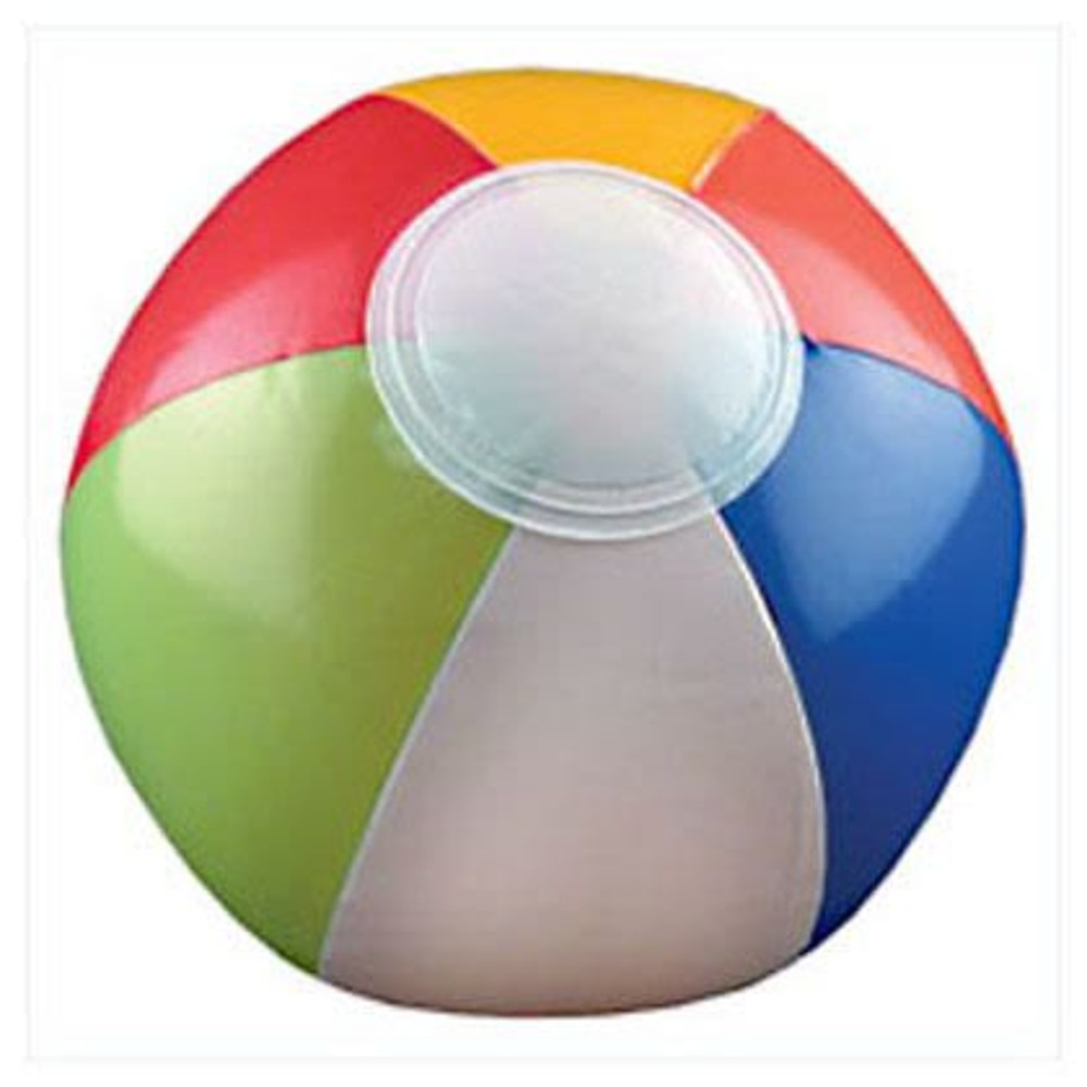 Multicolored Beach Ball 6 (Pack of 12)