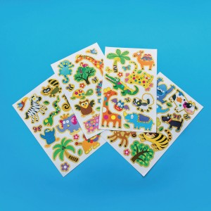 Jungle Wall/Window STICKERS (Pack of 12) (Pack of 12)