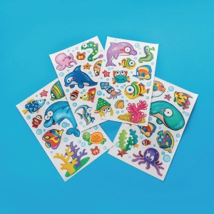 Sealife Wall/Window STICKERS (Pack of 12) (Pack of 12)