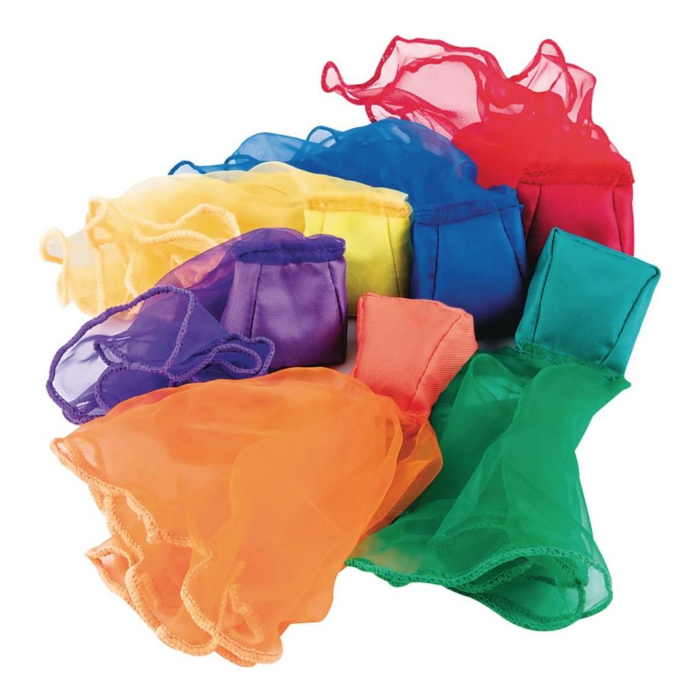 Spectrum Beanbag Scarves (Pack of 6)