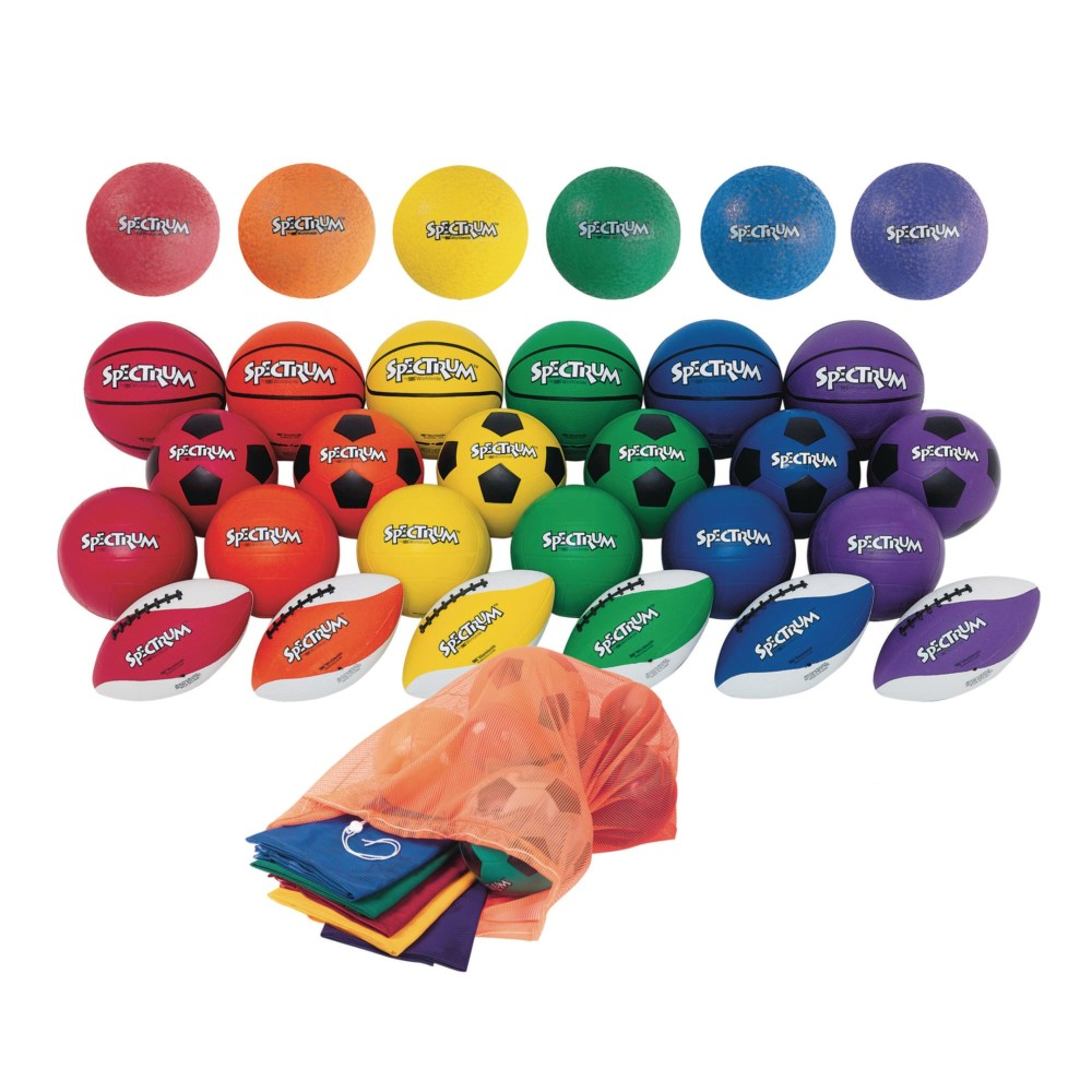 ''Spectrum Sports Ball Plus Pack, Official Size''