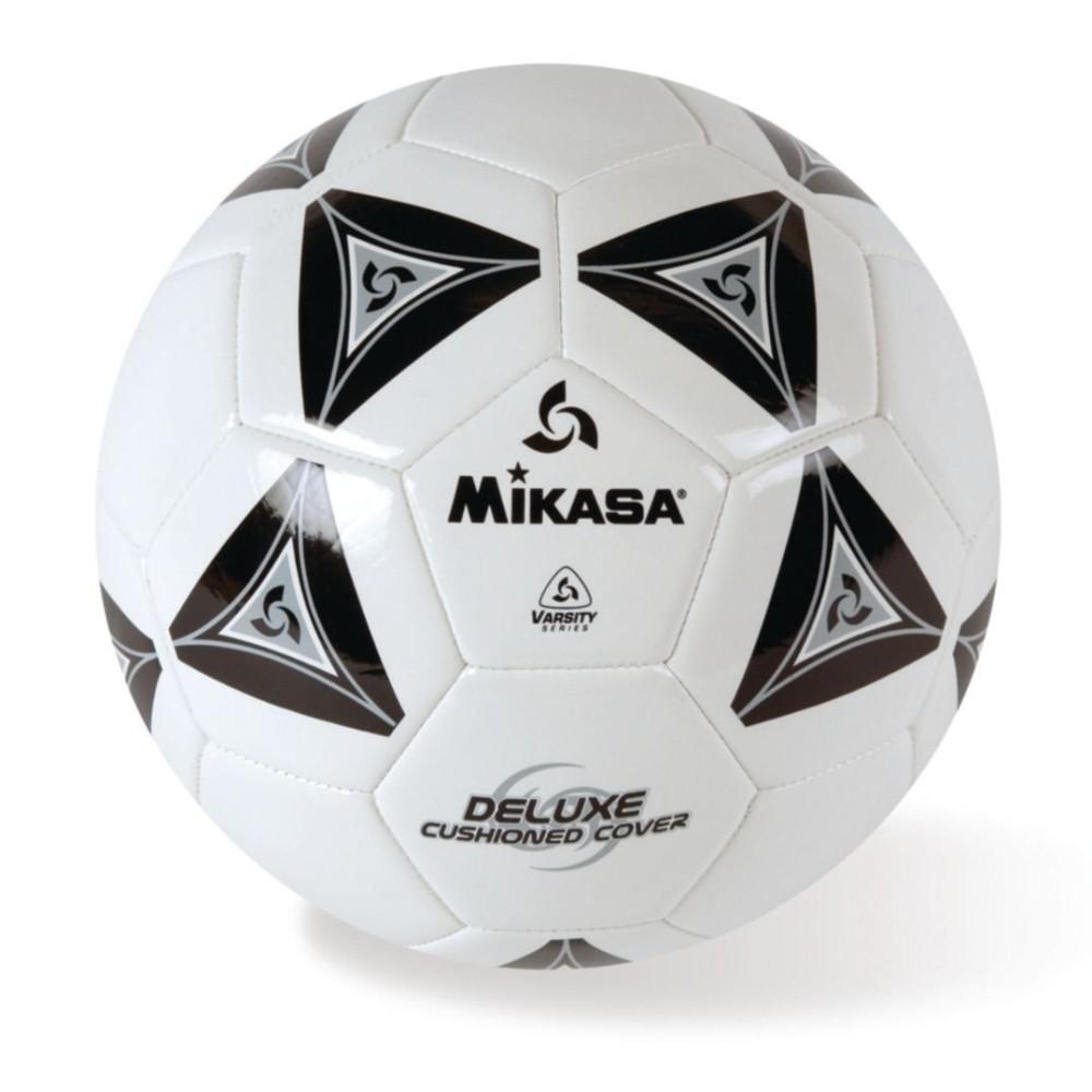 Mikasa Soft Soccer Ball Size 5 Black/White