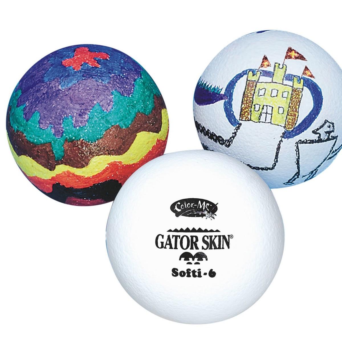 Gator Skin Dodgeballs 6 Gator Skin® Color-me™